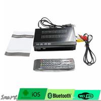 Wholesale Digital Mpeg4 Tv Receiver Usb - For Brazil Central South America ISDB-T Digital TV Satellite Receiver HD 1080P TV Plus Box MPEG4 HDMI USB PVR Remote Set Top Box