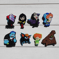 Wholesale Fit Hotels - 40pcs Hotel Transylvania Shoe Charms Ornaments Buckles Fit for Shoes & Bracelets ,Charm Decoration,Shoe Accessories Party Gift Free Shipping
