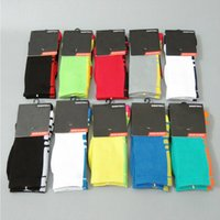 Wholesale Wholesale Cycling Usa - USA Professional Elite Basketball Socks Long Knee Athletic Sport Socks Men Fashion Compression Thermal Winter Socks wholesales