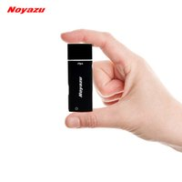 Wholesale Digital Voice Recorder Wav Format - NOYAZU V17 2 in 1 Mini Portable Digital Voice Recorder Dictaphone 8GB USB voice recorder WAV Format