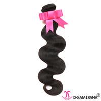 Wholesale mink prices - Grade 8A Brazilian Body Wave Cheap Brazilian Hair Weave No Tangle Mink Human Hair Bundles Natural Color Double Weft 1 Bundles Sample Price