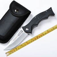 Wholesale Building Camps - Free shipping COLD STEEL RAJAH-II 440c blade folding tactical camping survival hunting EDC G10 handle 56HRC built-in ball bearing