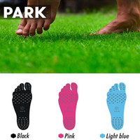 Wholesale 3 Colors Summer Nakefit Soles Invisible Beach Shoes Nakefit Foot Pads Nikefit Prezzo Nakefit Foot Pads Beach Feet Pads CCA6416 set