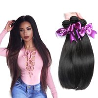 Wholesale Malaysian Straight Bundles - Peerless Malaysian Human Hair Weave Extensions 3Pcs Straight Hair Bundle Weaves Grade Unprocessed 8A Malaysian Virgin Hair For Black Women