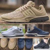 Wholesale Yellow Sand - 2016 Presto Ultra SE Woven Sand All Black Midnight Navy Wolf Grey Running Shoes Airs Cushion Outdoor Casual Walking Sneakers Size 40-45