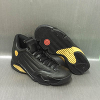 Wholesale Rhinestone Products - 2017 Air retro 14 DMP Glod Black Men Basketball Shoes High Quality Products Mens Shoe 14s Deigning Moments Package Sport Sneakers with box