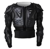 Wholesale Jacket Motorcycle Motorcross - Professional Motorcycle Jackets Body Protection Motorcross Racing Full Body Armor Chest Protective Jacket racing armor protector