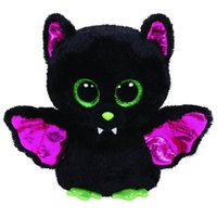 black cloth dolls - Ty Beanie Boos Original Big Eyes Plush Toy Doll Halloween Child Gift Bat Doll cm WJ159