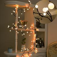 Decorative Lights Indooru0026Outdoor Fairy LED Globe String Lights 72 Bulbs LED  String Lights For Patio Backyard Cafe Garden Christmas Bistro