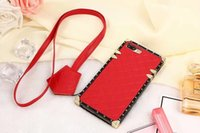 Wholesale Tpu New Arrival - 2017 New Arrival Paris Fashion Show Phone Case For Iphone7 plus Iphone Cases TPUl Luxury Leather Hard Case In Back Cover For iphone7 plus