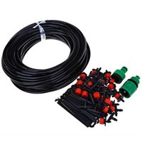 Wholesale Nozzles For Hose - 25m 30 Drip Nozzles DIY For Garden Watering Sprinklers Plants Irrigator Dripper Hose Kits Greenhouse Drip Irrigation System