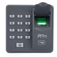 Wholesale Keypad Reader - Hot Standalone Biometric Fingerprint keypad Reader for Door lock intercom Access Control 125KHZ X6 Free Shipping