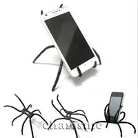 Wholesale camera mount bicycle - Hot Selling Universal Spider phone holder for all cellphones Car Bicycle Phone camera Hanger hook Grip Holder Mount for GPS free shipping