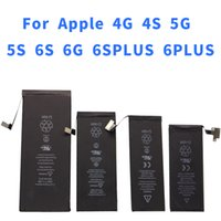 Wholesale 4g 4s Wholesale - Batter for iphone 4G 4S 5g 5s 6g 6s 6PLUS 6SPLUS Mobile Phone Battery for Iphone Compatible with cheap mobile phone built-in battery