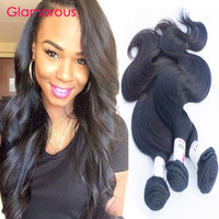 Wholesale Highest Quality Indian Human Hair - Glamorous Peruvian Hair Weft 8-34Inch Body Wave Human Hair 3 Bundles High Quality Malaysian Indian Brazilian Wavy Hair Extensions
