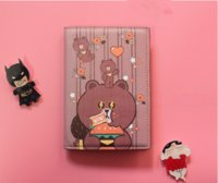 Wholesale Cartoon Women Passport Holder Cover Cute PU Leather Passport Fashion Travel Ticket Pouch Packages Passport Cover