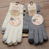 Wholesale Capacitive Table - Multi Purpose Glove Unisex Outdoor Capacitive Touch Screen Gloves Warm Winter Men Women For iPhone iPad Smart Phone (1 Pair)