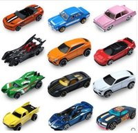 Wholesale Hotwheels Cars - Hot 5pcs lot Hot Wheels Random Styles Mini Race Cars Scale Models Miniatures Alloy Cars Toy Hotwheels For Boys Birthday Gift wholesale car t