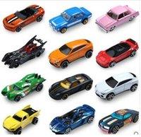 Wholesale Hot Wheels Hotwheels - Hot 5pcs lot Hot Wheels Random Styles Mini Race Cars Scale Models Miniatures Alloy Cars Toy Hotwheels For Boys Birthday Gift wholesale car t