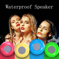 Wholesale sound car mp3 for sale - Bluetooth Speaker Waterproof Wireless Shower Handsfree Mic Suction Chuck Speaker Car Speaker Portable mini MP3 Super Bass MIS165