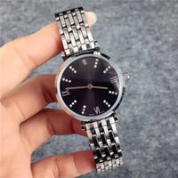Wholesale Business Classic Wristwatches - Fashion AAA watches Women Quartz Multi Colors Luxury Lady Wristwatch High-Grade Brand Arm Business Stainless steel Luminous hands Classic