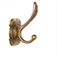 Wholesale Wholesale Metal Hook Wall Hangers - Europe Coat Antique Wall Hooks Handbags Bag Shoulder bag Bags Totes Purse Backpack Wallet Hook Hanger