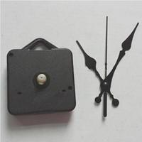 Wholesale Set Mechanism - DIY Quartz Clock Movement Kit Black Clock Accessories Spindle Mechanism Repair with Hand Sets Shaft Length 13 Best