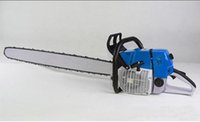 Wholesale chainsaws stroke resale online - Gasoline Chainsaws of GardenTools Powerful kw Cutting Wooden Machine Petrol Saw with Bar Chain