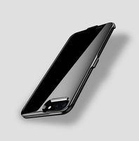 drahtlose ladegerätabdeckung großhandel-Neue art clip energienbank rückseitige abdeckung 4000 mAh externes telefon drahtlose ladegerät fall power suply telefon shell für iphone 6 6 plus 6 s