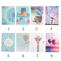 Wholesale Print Love Cards - Balloon Owl Pencil Flower Dandelion Leather For Apple iPad Pro 9.7 2017 Lace Pencil Love Butterfly Wallet Holder Card Pouch Case Flip Cover