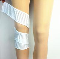 calças joelhinhas venda por atacado-Esportes Joelheiras Bezerro Alta Elasticidade Enrolamento Bandagem Badminton Basquete Musculação Venda Quente Colorido Respirável Melhor Apertado 3 5ty J1