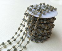 Wholesale Natural Jade Faceted Beads Necklace - Handcrafted Gold jewelry Finding,Natural gray Jade stone Agate Faceted Beaded Chains,DIY necklace hand chain jewelry making LZ01