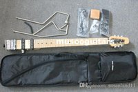 Wholesale Travel Electric Guitars - MINISTAR BRAND CASTAR-II TRAVEL ELECTRIC GUITAR WITH maple fingerboard CARRYING BAG