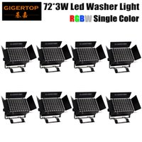 Wholesale unit wall online - Freeshipping Unit LED Wall Washer x3W RGBW Wash Wall LED Lamp LED Flood Light IP20 Staining Light Bar Flood Barn door Light IN1