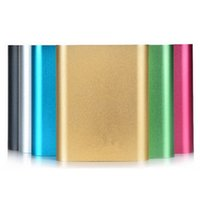 Wholesale s6 power bank online - XiaoMi mAh Power Bank Universal External Battery Chargering For iPhone6 S6 Note4 Smartphones up