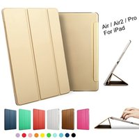 case for i pad - Luxury Tablet Heavy Duty Shockproof Smart Leather Stand Case Cover for Apple Ipad Air Air2 Pro Inch I Pad Air Coque