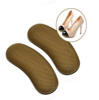 topuk kulpları toptan satış-Yeni 2000 Çift / grup Yapışkan Kumaş Ayakkabı Geri Topuk Ekler Tabanlık Pedleri Yastık Astar Sapları Ücretsiz Kargo