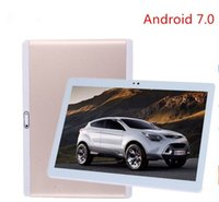 Wholesale Android Tablet G - Gratis Shipping10.1 inch Tablets smart phone 1920x1200 android 7.0 Octa Core Tablet PC 3G 4 G HD 4 GB 64 GB Wifi GPS tablets 7 8 9 10