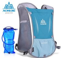 Wholesale Ultralight Bag - Wholesale-AONIJIE Outdoor Sports Backpack Functional and Ultralight Climbing Marathon Cycling Bags Unisex Sports Shoulder Pack Water Bag