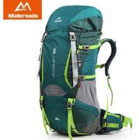 Wholesale Best Backpacks For Travel - Best! Large 70L Maleroads Professional CR System Climb backpack Travel Camp Equipment Hike Gear Trekking Rucksack for Men Women