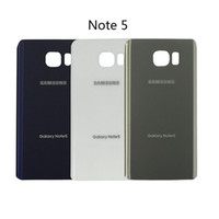 original galaxy note case - Original Note5 Back Cover Glass housing Battery Cover Glass Door Case For Samsung Galaxy Note N920 N920F Back Glass