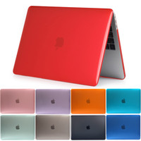 Wholesale China Laptops Book - Crystal Laptop Hard Cover Laptop Case For MacBook Air Pro Retina 11 12 13 15 for mac book New Pro 13 15 inch with Touch Bar Free DHL