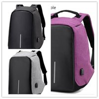 Wholesale Multi Function Table - New leisure backpack anti-theft sports backpack bag multi-function charging contracted students travel camera bag