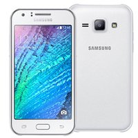 Wholesale Original Mobile Phone 3g - Samsung Galaxy J100F Mobile Phone With 4.3Inch Dual Core Dual Camera Android4.4 Refurbished Original Cell Phones 3G Unlocked