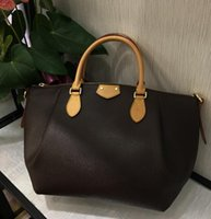 Wholesale Second Hand Dresses - Tulene MM Second Hand Beautiful Bag with strap shoulder bag 2017 new style high quality Genuine leather brand designer fashion women\'s