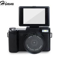 Wholesale Flip Camera Hd - P1 digital camera home digital flip screen camera special gift manufacturers self - timer SLR camera