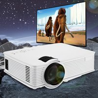Großhandel-GP - 9 Mini Heimkino 2000 Lumen 1920 x 1080 Pixel Multimedia Wireless HD LCD Projektor Heimkino HDMI / USB / SD / AV / 3.5mm