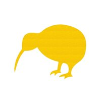 Wholesale Rare Cars - Wholesale 10pcs lot Lovely Rare Exotic Birds of New Zealand's Unique Car Sticker for Truck SUV Motorcycle Car Styling Reflective Vinyl Decal