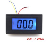Digital Only blue electrical testing - High Precision LCD Digital Ammeter DC uA uA LCD Blue Backlight No need shunt can test directly