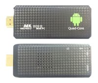 Wholesale Post Card Box - 1PCS by Post MK809 Quad Core TV Box Stick Media Player Google Android 5.1 RK3229 2GB RAM 8GB WIFI Bluetooth 1080P HDMI Smart TV Dongle